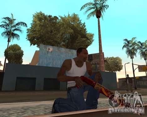 Новогодний weapon pack v2 для GTA San Andreas четвёртый скриншот