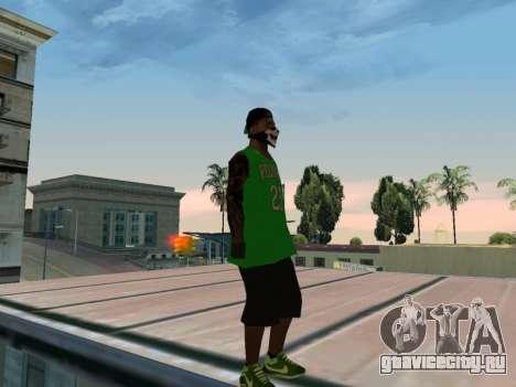 Fam3 Skin для GTA San Andreas четвёртый скриншот
