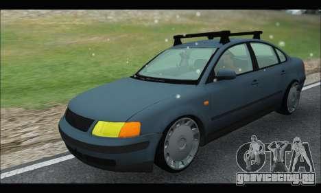 VW Passat для GTA San Andreas вид сзади