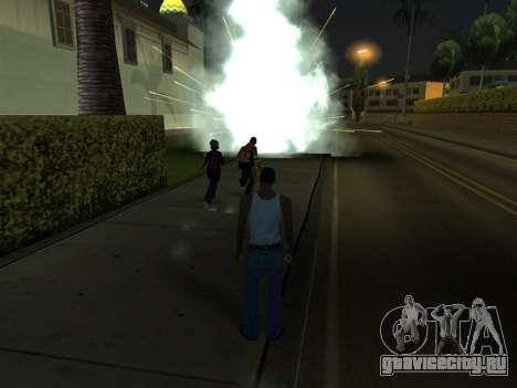 New Effects Pack White Version для GTA San Andreas одинадцатый скриншот