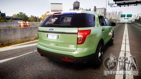 Ford Explorer 2013 Army [ELS] для GTA 4