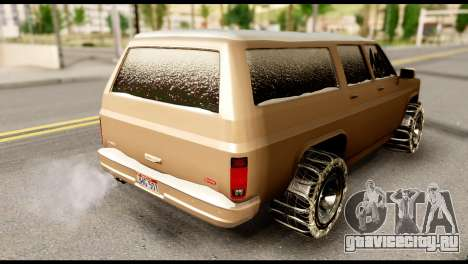 GTA 5 RancherXL для GTA San Andreas вид слева