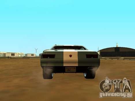 GTA 5 Bravado Gauntlet для GTA San Andreas вид сверху