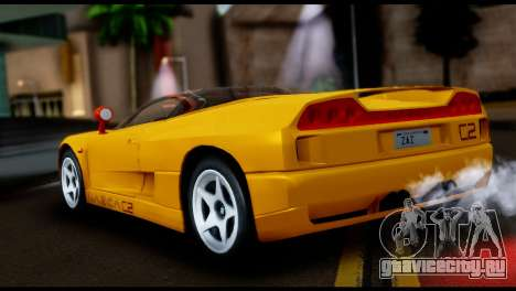 BMW Italdesign Nazca C2 1991 для GTA San Andreas вид слева