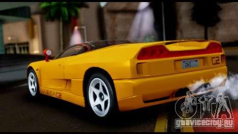 BMW Italdesign Nazca C2 1991 для GTA San Andreas вид слева