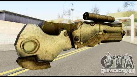 Plasmagun from Metal Gear Solid для GTA San Andreas второй скриншот