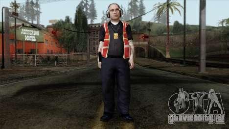 GTA 4 Skin 17 для GTA San Andreas