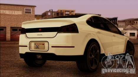 Cheval Surge 1.1 (HQLM) для GTA San Andreas вид слева