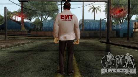 Police Skin 10 для GTA San Andreas второй скриншот