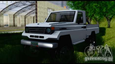 Toyota Land Cruiser Macho Pick-Up 2007 4.500 для GTA San Andreas вид справа