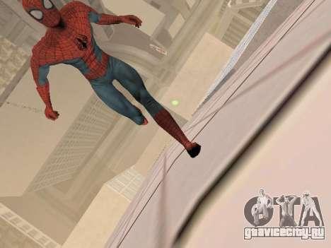 Spiderman 3 Crawling для GTA San Andreas четвёртый скриншот