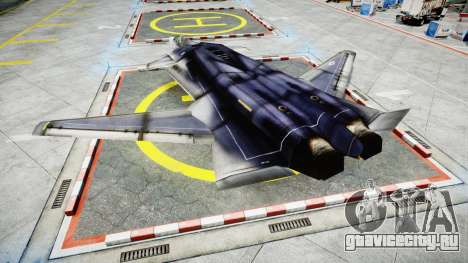 Lockheed F-121 Switchblade для GTA 4 вид слева