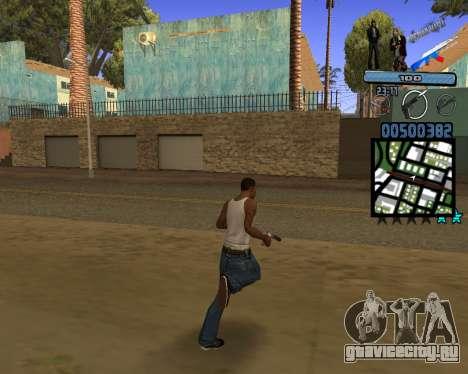 C-HUD Russian Mafia для GTA San Andreas третий скриншот