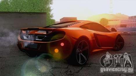 McLaren MP4-12C Gawai v1.5 для GTA San Andreas вид слева