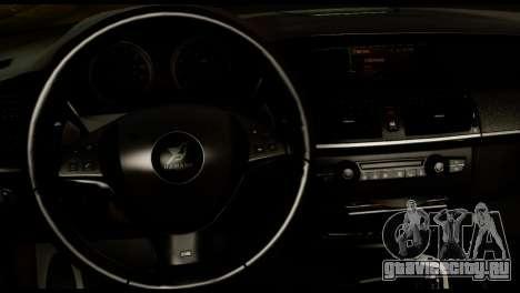 BMW X6 Hamann для GTA San Andreas вид справа