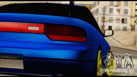 Nissan Silvia S13 Sileighty Drift Moster для GTA San Andreas вид изнутри