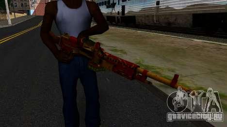 Новогодний Миниган для GTA San Andreas третий скриншот