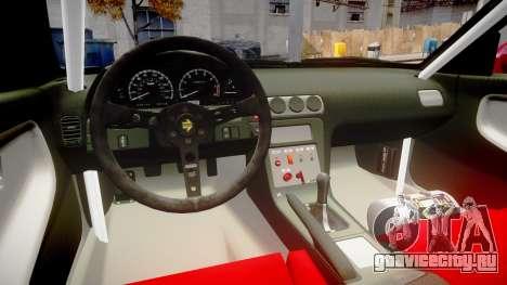 Nissan 240SX Missile для GTA 4 вид изнутри