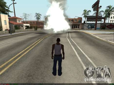 New Effects Pack White Version для GTA San Andreas третий скриншот