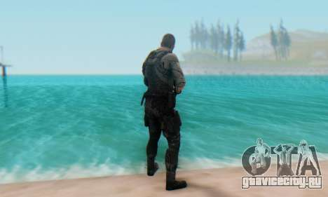 Sam Fisher - Paladin Outfit (Splinter Cell Black для GTA San Andreas третий скриншот