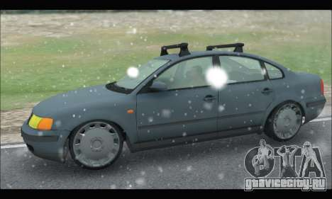 VW Passat для GTA San Andreas вид слева