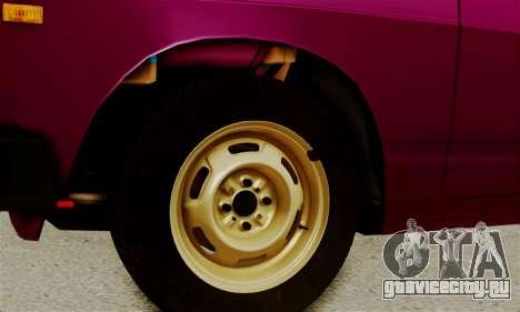 ВАЗ 2105 Боевая Классика для GTA San Andreas вид сбоку