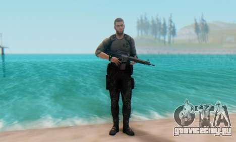 Sam Fisher - Paladin Outfit (Splinter Cell Black для GTA San Andreas