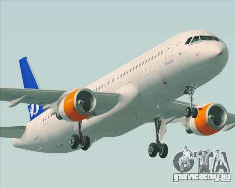 Airbus A320-200 Scandinavian Airlines - SAS для GTA San Andreas колёса