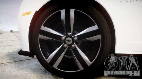 Chevrolet Camaro ZL1 2012 Redline для GTA 4
