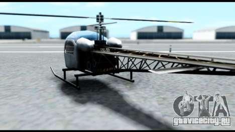 Beta Sparrow для GTA San Andreas вид слева