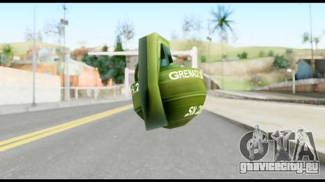 MGS1-2 Grenade from Metal Gear Solid для GTA San Andreas