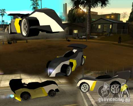 RC Bandit (Automotive) для GTA San Andreas двигатель