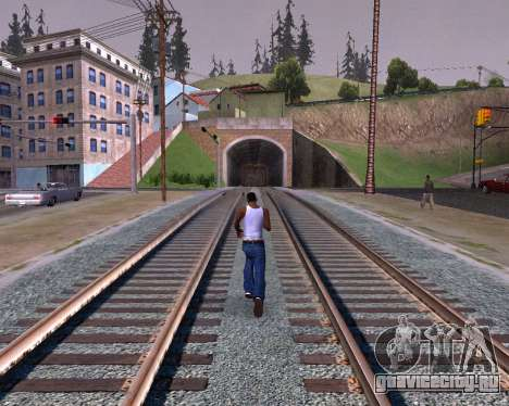 Colormod Dark Low для GTA San Andreas пятый скриншот