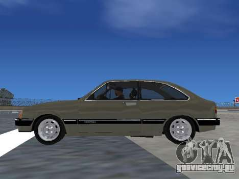 Chevrolet Chevette Hatch для GTA San Andreas вид справа
