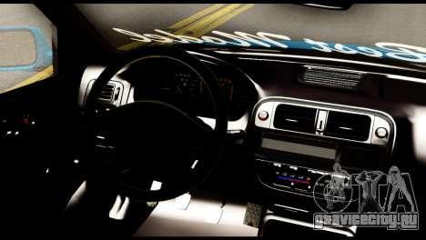 Honda Civic Hatcback B.O. Yapım для GTA San Andreas вид сзади слева