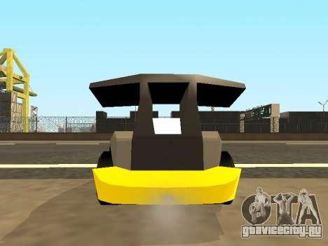 RC Bandit (Automotive) для GTA San Andreas вид изнутри