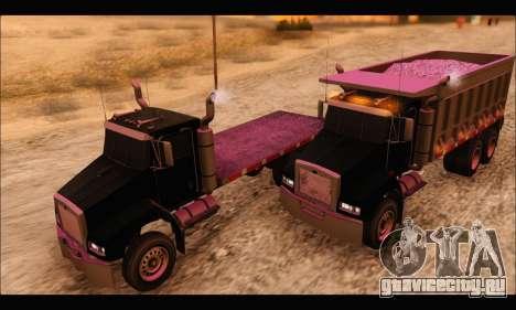 HVY Biff (GTA IV) для GTA San Andreas вид справа