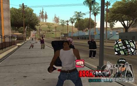 C-HUD Boom-Boom для GTA San Andreas третий скриншот