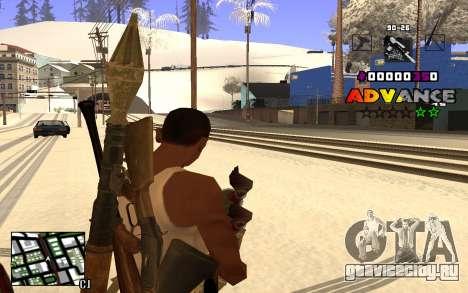 C-HUD Advance RP для GTA San Andreas третий скриншот