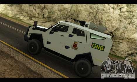 Oshkosh Sand Cat GNB для GTA San Andreas