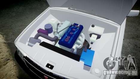 ГАЗ 31022 rims2 для GTA 4 вид сзади