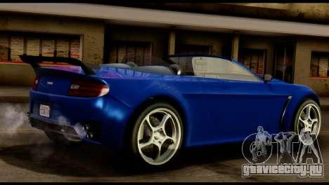GTA 5 Dewbauchee Rapid GT Cabrio [HQLM] для GTA San Andreas вид справа