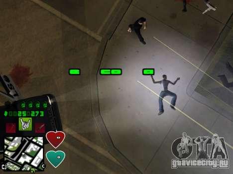 C-HUD Classic v4.1 для GTA San Andreas шестой скриншот