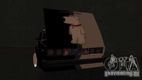 Ваз 2105 корЖик для GTA San Andreas вид сзади слева