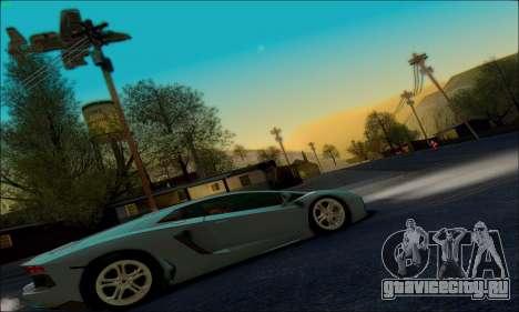 White Water ENB для GTA San Andreas третий скриншот