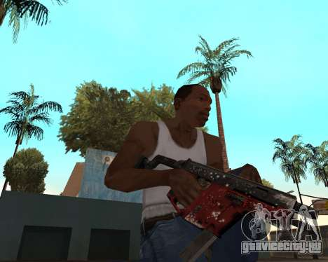 Новогодний weapon pack v2 для GTA San Andreas пятый скриншот
