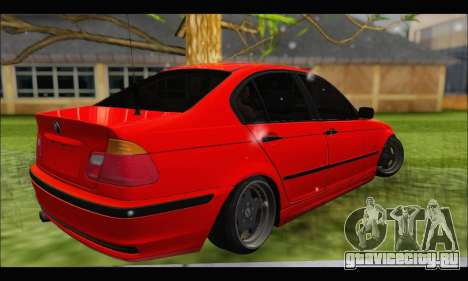 BMW e46 Sedan V2 для GTA San Andreas вид справа