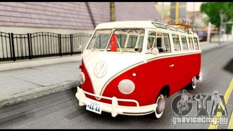 Volkswagen T1 для GTA San Andreas