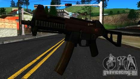 UMP9 from Battlefield 4 v1 для GTA San Andreas