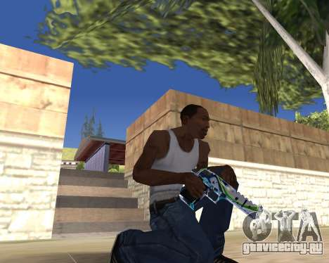 Graffity weapons для GTA San Andreas пятый скриншот